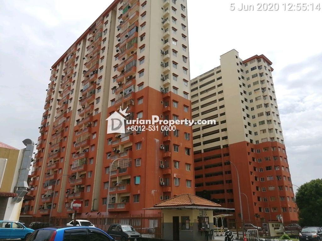 Apartment For Auction at Sri Dahlia Apartment, Kajang