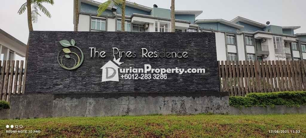 Apartment For Auction at The Pines Residence, Gelang Patah