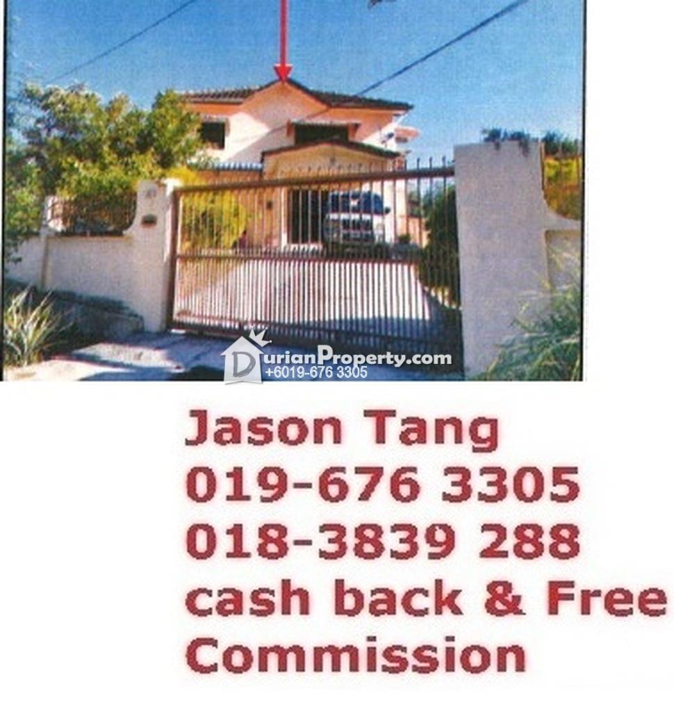 Terrace House For Auction at Pangsapuri Tanjung Tokong Fasa 4A, Tanjung Bungah