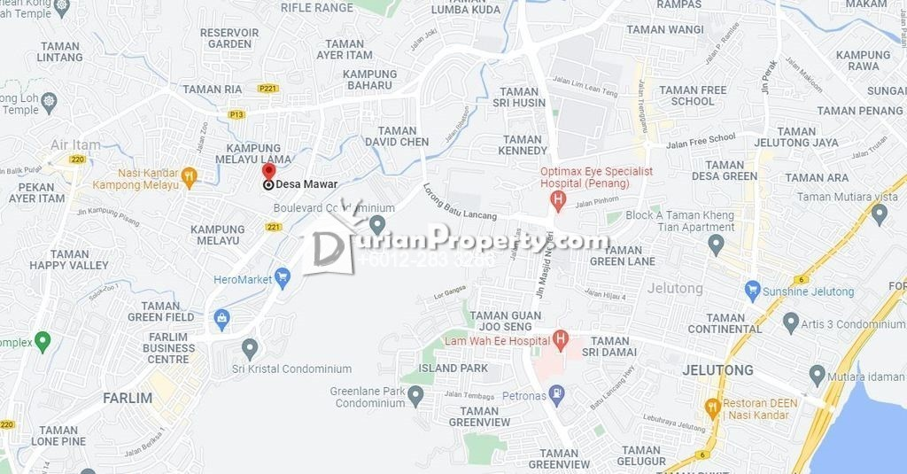 Flat For Auction at Desa Mawar, Farlim
