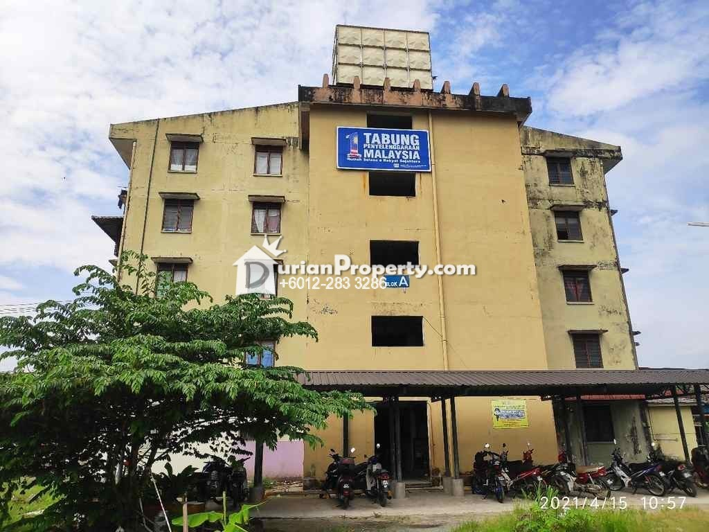 Flat For Auction at Kampung Boyan, Taiping