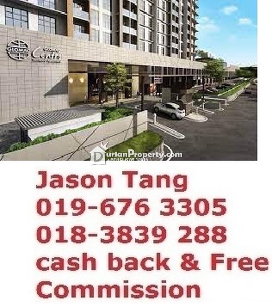 Apartment For Auction at Glomac Centro, Bandar Utama