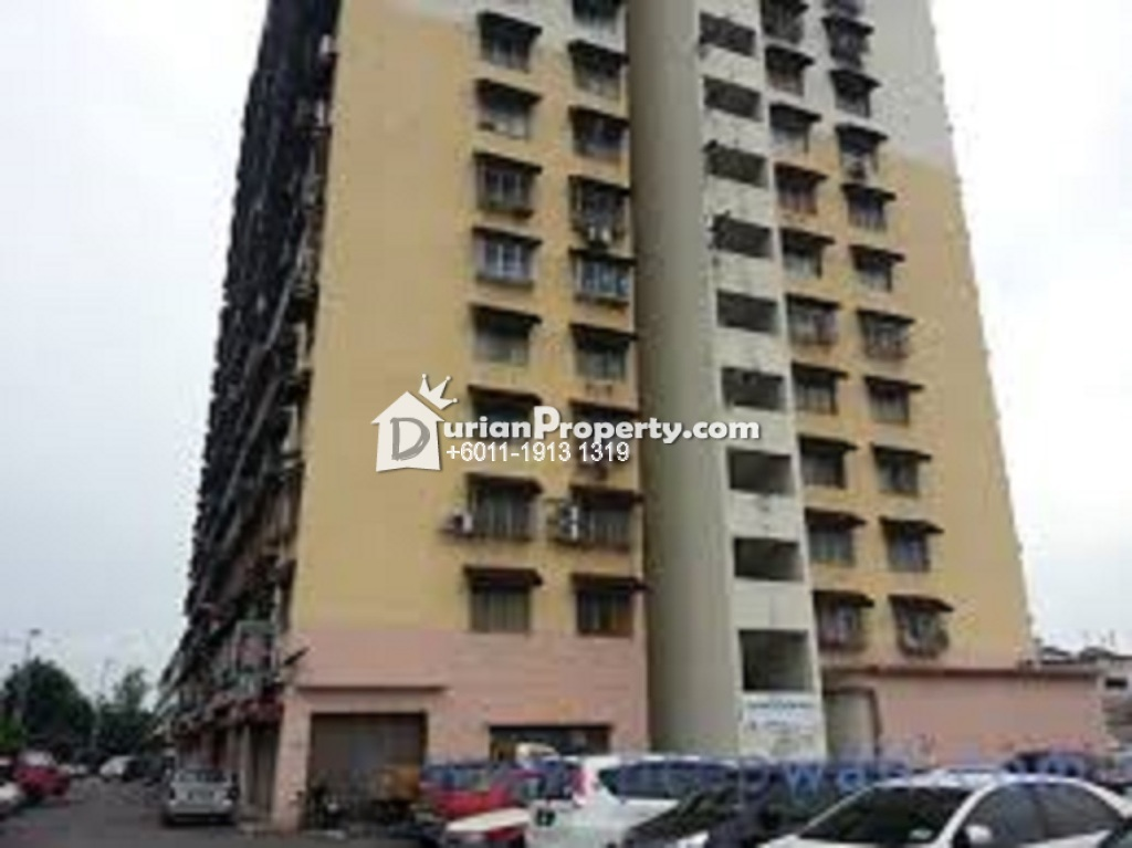 Apartment For Rent at Pandan Ria Apartment, Ampang