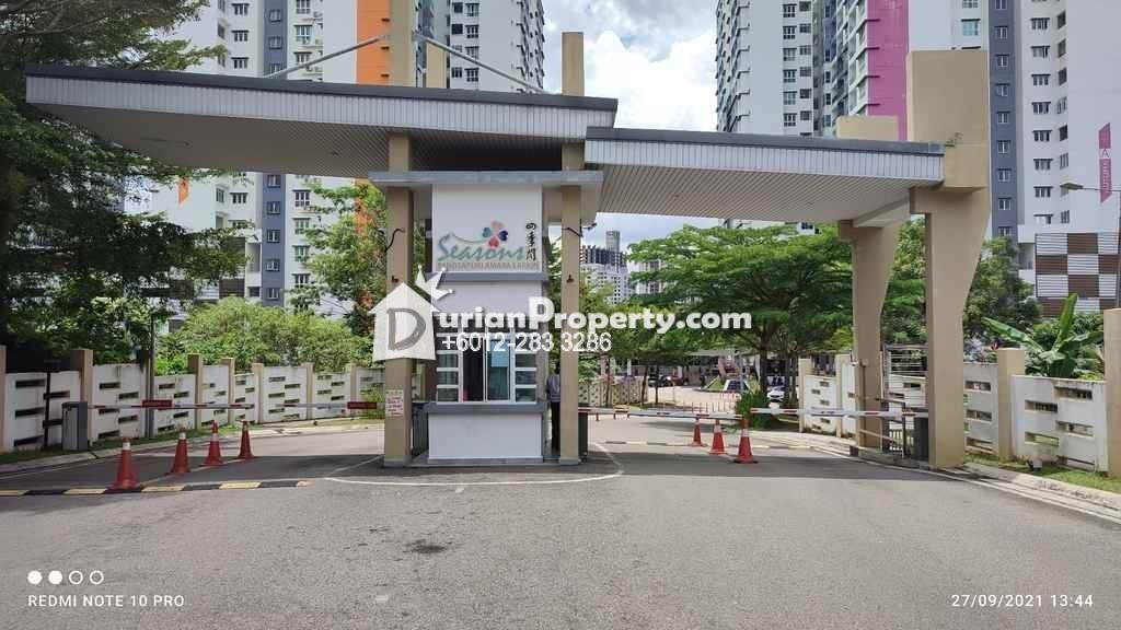 Apartment For Auction at Season Amara, Johor Bahru