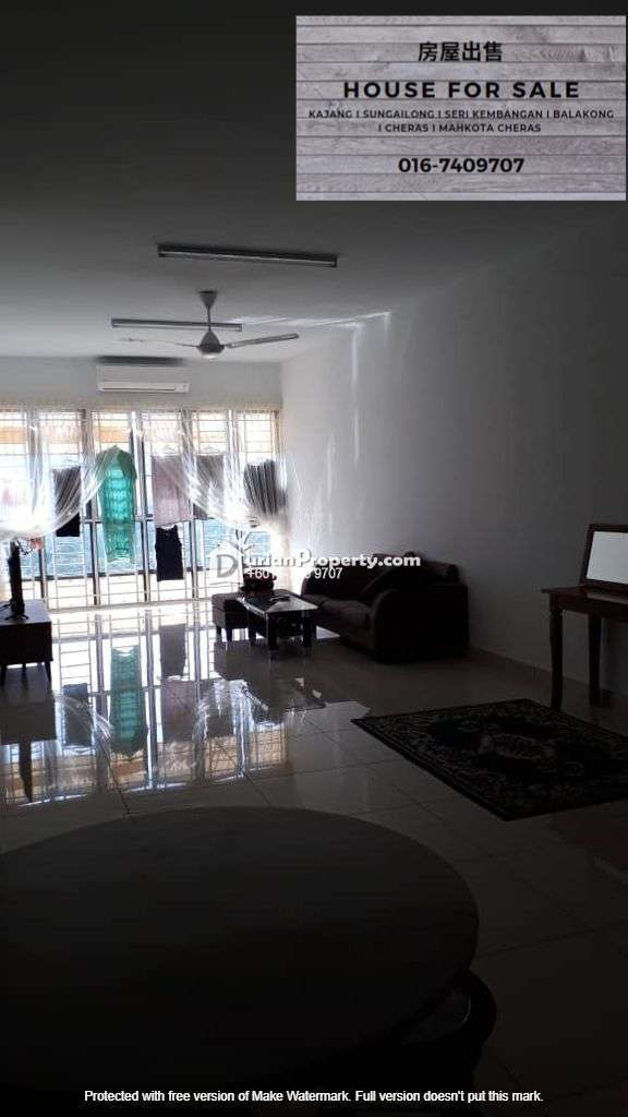 Condo For Sale at Oasis 1 @ Mutiara Heights, Kajang