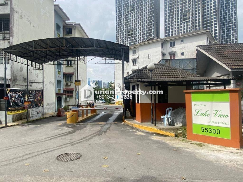 Apartment For Sale at Pandan Lake View, Pandan