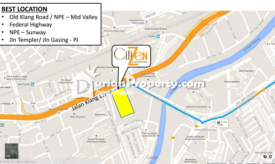 Condo For Sale At Citizen  Old Klang Road For Rm 590 000 By Kelvin