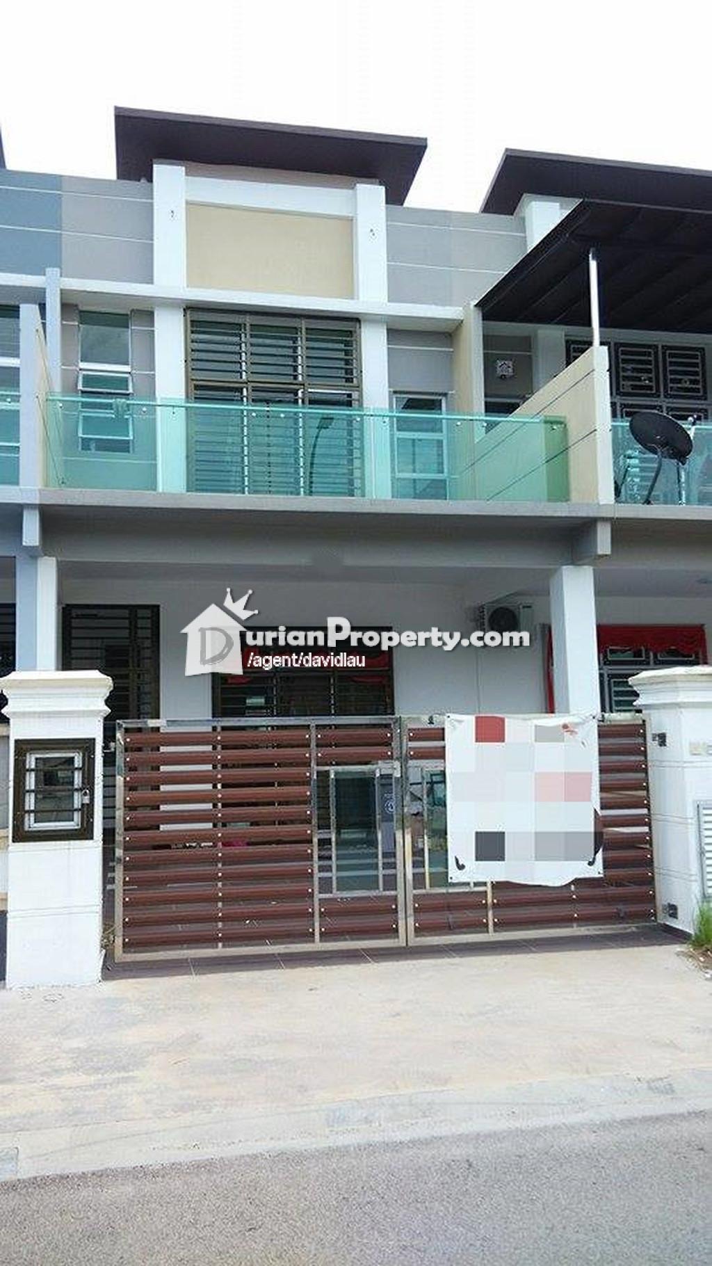 Terrace house for sale at la garden johor bahru for rm for Home design johor bahru