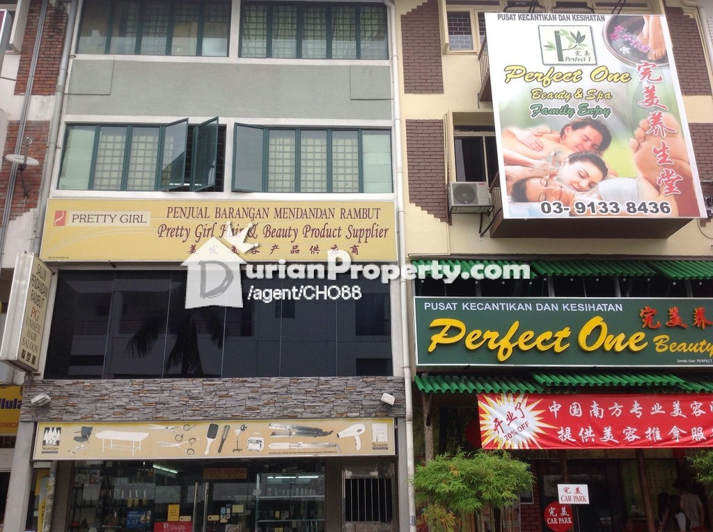 Shop Office For Rent at Taman Segar, Cheras for RM 1,880 by Emil cho