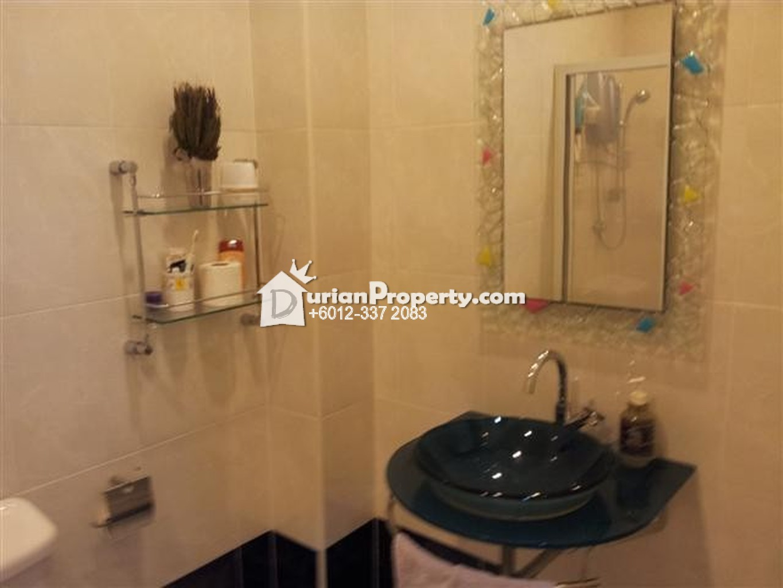 penthouse for rent at prima bayu klang