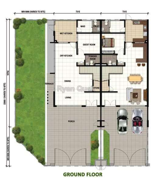 Terrace house for sale at bandar seri alam masai for rm for Terrace house series