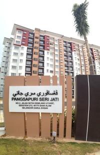 Property for Rent at Seri Jati Apartment