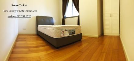 Condo Room for Rent at Palm Spring @ Damansara, Petaling Jaya