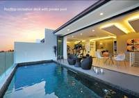 Terrace House For Sale at Pool Villas, Puchong