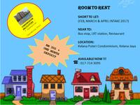 Condo Room for Rent at Kelana Jaya, Petaling Jaya