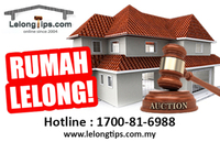 Property for Auction at Taman Abadi Indah
