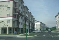 Flat Room for Rent at Pangsapuri Seroja, Section U13