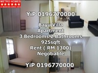 Property for Rent at Bayu Villa