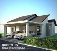 Bungalow House For Sale at Taman Sutera Wangi, Batu Berendam