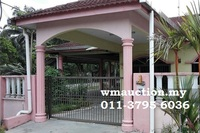 Terrace House For Auction at Taman Sri Wangi, Batu Pahat