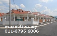 Terrace House For Auction at Taman Kinding Raya, Tanjong Rambutan