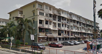 Apartment Duplex For Sale at Dahlia Apartment, Pandan Indah
