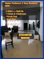 Property for Rent at Residensi Desa