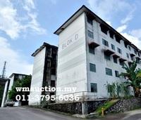 Flat For Auction at Prima Beruntung, Bukit Beruntung