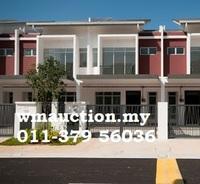 Terrace House For Auction at Taman M-Residensi 2, Rawang