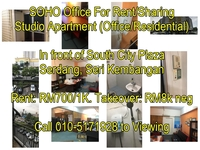 Property for Rent at South City Plaza