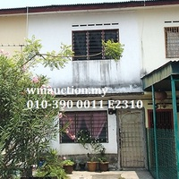 Terrace House For Auction at Taman Aman, Kapar
