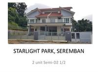 Semi D For Sale at Taman Starlight, Seremban