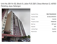 Property for Auction at Desa Mentari