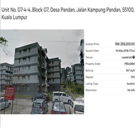 Property for Auction at Baiduri Apartment