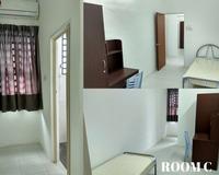 Terrace House Room for Rent at Kampar Putra, Kampar