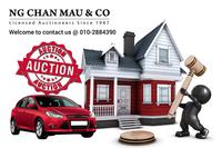 Terrace House For Auction at Taman Sri Rompin, Rompin