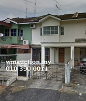 Terrace House For Auction at Taman Putri Kulai, Kulai