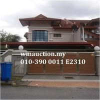 Terrace House For Auction at Taman Subang Murni, Subang