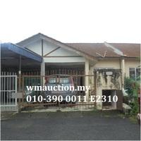 Terrace House For Auction at Taman Perepat Indah, Kapar