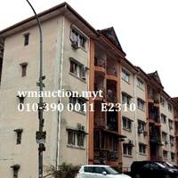 Apartment For Auction at Pangsapuri Gemilang, Taman Gemilang