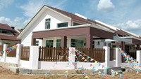 Terrace House For Sale at Kampung Baharu Mantin, Mantin