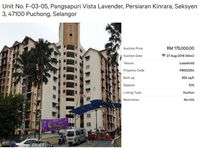 Property for Auction at Vista Lavender