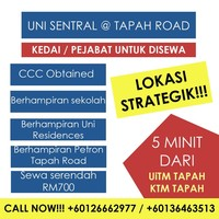 Property for Rent at Uni Sentral Tapah