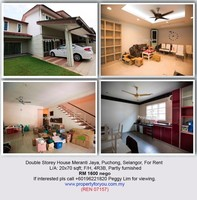 Property for Rent at Taman Meranti Jaya