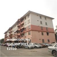 Property for Auction at Pangsapuri Meru Ehsan