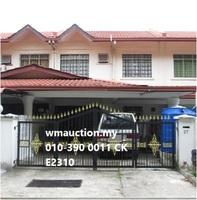 Property for Auction at Taman Bakti Ikhlas/Sri Setia Apartment