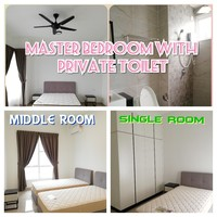 Serviced Residence Room for Rent at The Pinnacles, Johor Bahru