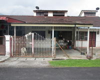 Terrace House For Auction at Persiaran Tun Sambanthan, Sungai Siput