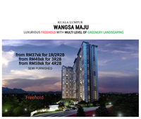 Property for Sale at Seksyen 1 Wangsa Maju Flat