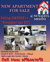 Property for Sale at The Meridin@Medini